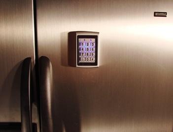 Refrigerator Lock Magnetic Lock Access Control Home